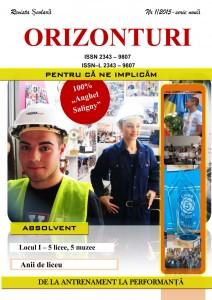 Anghel Saligny - Revista Orizonturi nr 1 - 2015