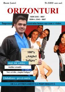 Anghel Saligny - Revista Orizonturi nr 2 - 2015