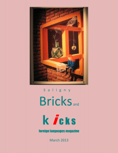 "Revista ""Bricks and Kicks"" – Colegiul Tehnic Anghel Saligny – Bucuresti"