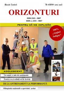 REVISTA ORIZONTURI NR 2-2014
