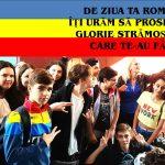 100 de mesaje de la 100 de elevi din Saligny pentru 100 de ani de la Marea Unire