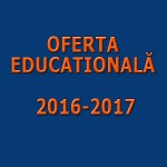 Oferta Educationala 2016-2017